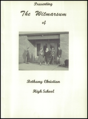 Page 5, 1956 Edition, Bethany Christian High School - Witmarsum Yearbook (Goshen, IN) online yearbook collection