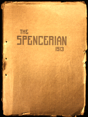 Page 1, 1913 Edition, Spencer High School - Spencerian Yearbook (Spencer, IN) online yearbook collection