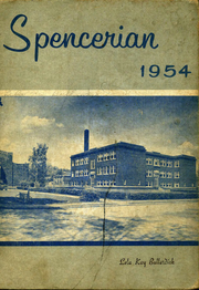 1954 Edition, Spencer High School - Spencerian Yearbook (Spencer, IN)