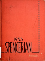 1955 Edition, Spencer High School - Spencerian Yearbook (Spencer, IN)