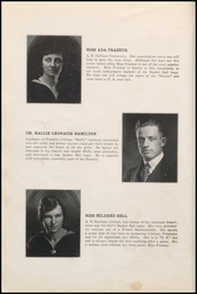 Page 14, 1920 Edition, Fairmount High School - Black and Gold Yearbook (Fairmount, IN) online yearbook collection