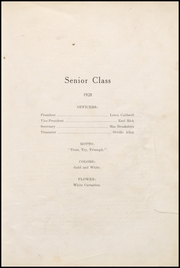 Page 17, 1920 Edition, Fairmount High School - Black and Gold Yearbook (Fairmount, IN) online yearbook collection