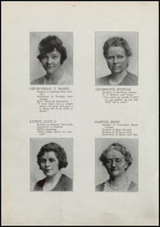 Page 14, 1921 Edition, Fairmount High School - Black and Gold Yearbook (Fairmount, IN) online yearbook collection