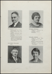 Page 15, 1921 Edition, Fairmount High School - Black and Gold Yearbook (Fairmount, IN) online yearbook collection