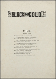 Page 7, 1921 Edition, Fairmount High School - Black and Gold Yearbook (Fairmount, IN) online yearbook collection