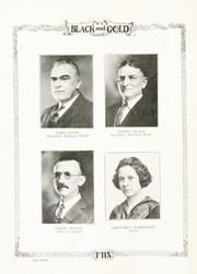 Page 12, 1923 Edition, Fairmount High School - Black and Gold Yearbook (Fairmount, IN) online yearbook collection