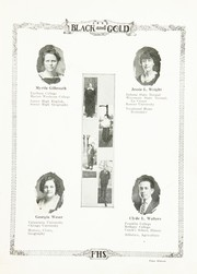 Page 17, 1923 Edition, Fairmount High School - Black and Gold Yearbook (Fairmount, IN) online yearbook collection