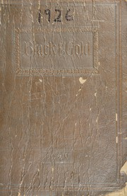 Page 1, 1926 Edition, Fairmount High School - Black and Gold Yearbook (Fairmount, IN) online yearbook collection