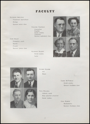 Page 11, 1940 Edition, Fairmount High School - Black and Gold Yearbook (Fairmount, IN) online yearbook collection