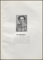 Page 7, 1940 Edition, Fairmount High School - Black and Gold Yearbook (Fairmount, IN) online yearbook collection