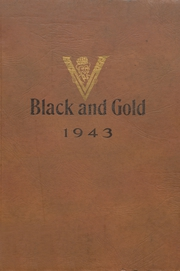 Page 1, 1943 Edition, Fairmount High School - Black and Gold Yearbook (Fairmount, IN) online yearbook collection