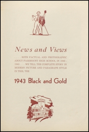 Page 5, 1943 Edition, Fairmount High School - Black and Gold Yearbook (Fairmount, IN) online yearbook collection