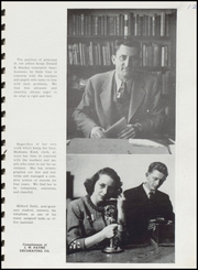 Page 15, 1946 Edition, Fairmount High School - Black and Gold Yearbook (Fairmount, IN) online yearbook collection