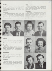 Page 17, 1946 Edition, Fairmount High School - Black and Gold Yearbook (Fairmount, IN) online yearbook collection
