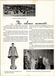Page 16, 1958 Edition, Southwestern High School - Lair Yearbook (Lafayette, IN) online yearbook collection