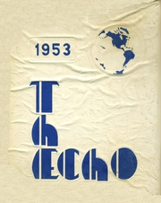 Page 1, 1953 Edition, Dyer Central High School - Echo Yearbook (Dyer, IN) online yearbook collection