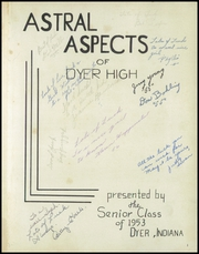 Page 5, 1953 Edition, Dyer Central High School - Echo Yearbook (Dyer, IN) online yearbook collection