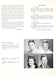 Page 12, 1944 Edition, State High School - Analyst Yearbook (Terre Haute, IN) online yearbook collection