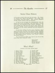 Page 19, 1957 Edition, Worthington Jefferson High School - Rambler Yearbook (Worthington, IN) online yearbook collection