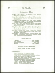 Page 28, 1957 Edition, Worthington Jefferson High School - Rambler Yearbook (Worthington, IN) online yearbook collection