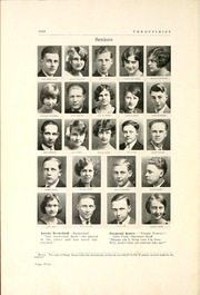 Page 10, 1929 Edition, Huntingburg High School - Optimist Yearbook (Huntingburg, IN) online yearbook collection