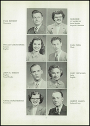 Page 12, 1951 Edition, Huntingburg High School - Optimist Yearbook (Huntingburg, IN) online yearbook collection