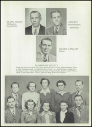 Page 13, 1951 Edition, Huntingburg High School - Optimist Yearbook (Huntingburg, IN) online yearbook collection