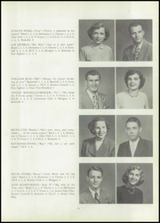 Page 15, 1951 Edition, Huntingburg High School - Optimist Yearbook (Huntingburg, IN) online yearbook collection