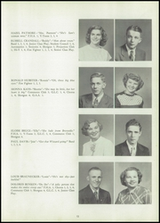 Page 17, 1951 Edition, Huntingburg High School - Optimist Yearbook (Huntingburg, IN) online yearbook collection