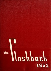 1952 Edition, Roosevelt High School - Flashback Yearbook (Monticello, IN)