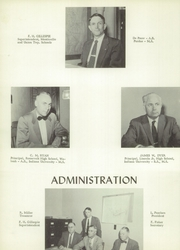 Page 10, 1957 Edition, Roosevelt High School - Flashback Yearbook (Monticello, IN) online yearbook collection