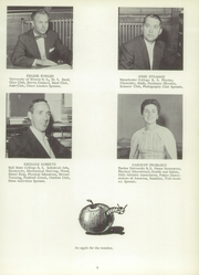 Page 13, 1957 Edition, Roosevelt High School - Flashback Yearbook (Monticello, IN) online yearbook collection