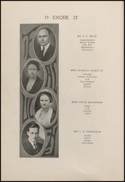 Page 12, 1922 Edition, Thorntown High School - Exode Yearbook (Thorntown, IN) online yearbook collection
