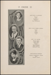 Page 13, 1922 Edition, Thorntown High School - Exode Yearbook (Thorntown, IN) online yearbook collection