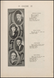 Page 15, 1922 Edition, Thorntown High School - Exode Yearbook (Thorntown, IN) online yearbook collection