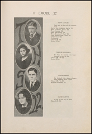 Page 17, 1922 Edition, Thorntown High School - Exode Yearbook (Thorntown, IN) online yearbook collection