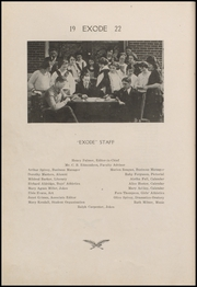 Page 8, 1922 Edition, Thorntown High School - Exode Yearbook (Thorntown, IN) online yearbook collection
