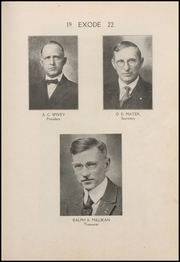 Page 9, 1922 Edition, Thorntown High School - Exode Yearbook (Thorntown, IN) online yearbook collection