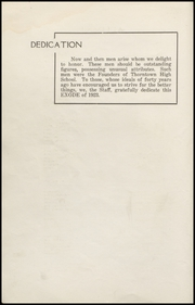 Page 6, 1923 Edition, Thorntown High School - Exode Yearbook (Thorntown, IN) online yearbook collection