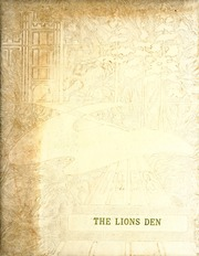 1958 Edition, Lyons High School - Lions Den Yearbook (Lyons, IN)