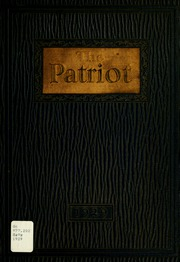 Page 1, 1929 Edition, Shields High School - Patriot Yearbook (Seymour, IN) online yearbook collection