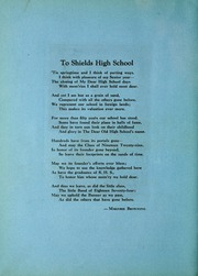 Page 10, 1929 Edition, Shields High School - Patriot Yearbook (Seymour, IN) online yearbook collection