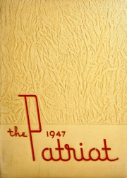 1947 Edition, Shields High School - Patriot Yearbook (Seymour, IN)