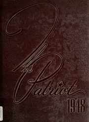 1948 Edition, Shields High School - Patriot Yearbook (Seymour, IN)