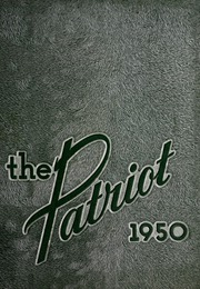 1950 Edition, Shields High School - Patriot Yearbook (Seymour, IN)