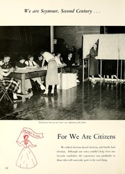 Page 16, 1953 Edition, Shields High School - Patriot Yearbook (Seymour, IN) online yearbook collection