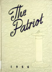 1956 Edition, Shields High School - Patriot Yearbook (Seymour, IN)