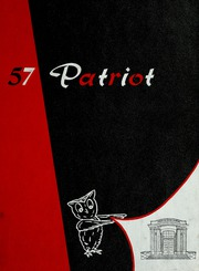 1957 Edition, Shields High School - Patriot Yearbook (Seymour, IN)