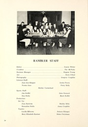 Page 38, 1950 Edition, Huntington Catholic High School - Rambler Yearbook (Huntington, IN) online yearbook collection