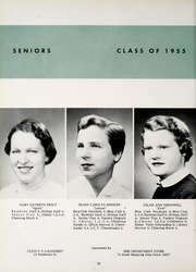 Page 16, 1955 Edition, Huntington Catholic High School - Rambler Yearbook (Huntington, IN) online yearbook collection